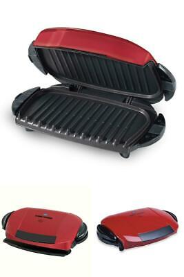 Grill And Panini Press 5 Serving Removable Plate Electric Indoor Non Stick New • 61.82£