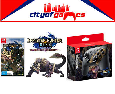 AU239.95 • Buy Nintendo Switch Controller & Monster Hunter Rise Collector's Edition  Pre Order