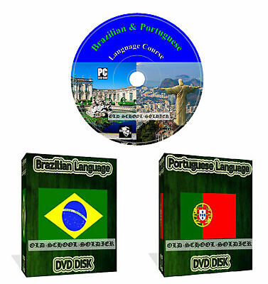 £3.99 • Buy Learn How To Speak Brazilian Portuguese Language Course Dvd Disk