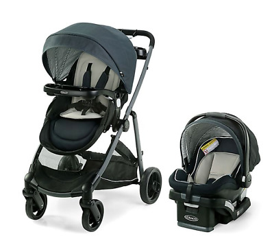 Graco Modes Element DLX 3-in-1 Travel System In Windsor Style • 258.07£