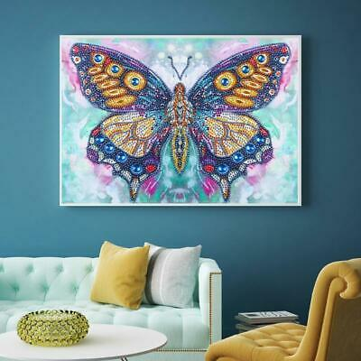 AU7.12 • Buy 5D Special Diamond Painting Butterfly Embroidery Rhinestone Crystal Cross Stitch
