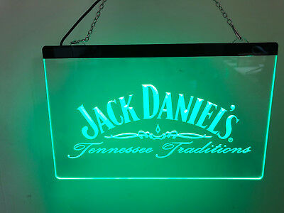 $ CDN36.27 • Buy Jack Daniel's Led Neon Sign For Game Room Bar, Garage,Drink Gift US Shipper