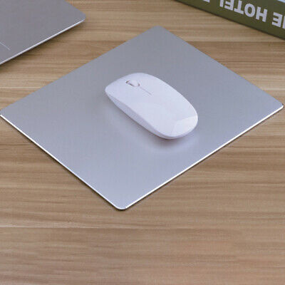 AU15.03 • Buy Aluminum Office Gaming Mouse Mat Pad Mousepad Non-slip For Apple MacBook Silver