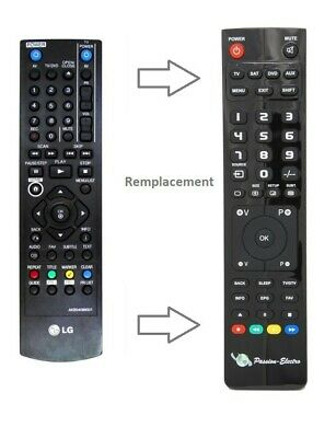 £16.83 • Buy Replacement Remote Control For LG DRT389H, DVD/DB