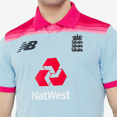 ENGLAND 2020 Pink ODI CRICKET SHIRT • 90£