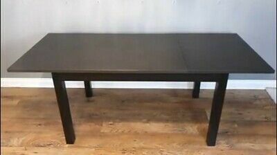 May Deliver Extending Ikea Laneberg Solid Wood Dining Table 1.3m-1.9m In London  • 55£
