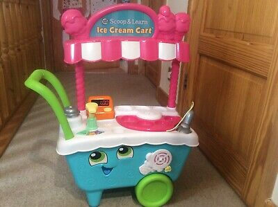 Leap Frog Scoop And Learn Ice Cream Cart Only • 4.80£