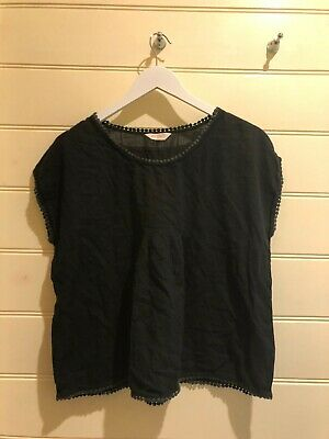 AU36 • Buy Gorman Top - Black - Cotton Size 10