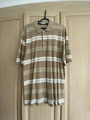 MENS LACOSTE POLO SHIRT Size 7 XXL • 8£