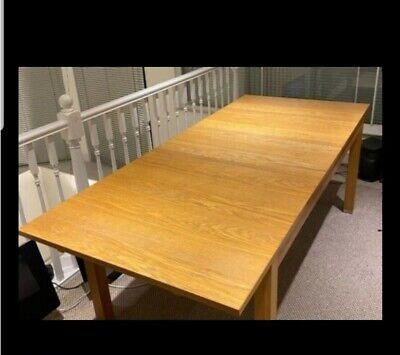 May Deliver Ikea Bjursta 1.4, 1.8, 2.2 M Extending Dining Table • 55£