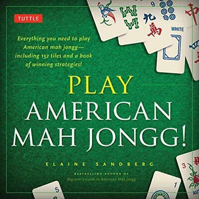 $13.43 • Buy Play American Mah Jongg! Kit: Everything You Need To Play A (UK IMPORT) BOOK NEW