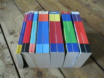 $ CDN88.41 • Buy Harry Potter Complete 1-7 Paperback Books, Bloomsbury, 3 First Editions, Good