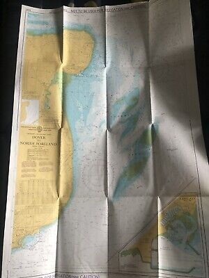 AU18 • Buy Dover To North Foreland Instructional Navigation Chart Ramsgate Harbour