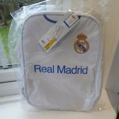 £10.95 • Buy Real Madrid OFFICIAL Football Shirt Lunch Bag NEW SEALED & TAGGED #2