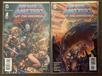 $17.99 • Buy HE MAN & THE MASTERS OF THE UNIVERSE 1 & 2 (2013) DC COMICS 2 Book Lot