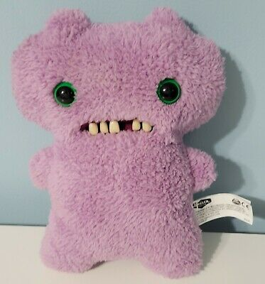 $ CDN25.36 • Buy FUGGLER Funny Ugly Monster, 9  Gap Tooth McGoo Purple Plush Creature W Teeth Toy