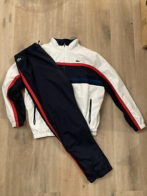 Lacoste Tracksuit XXL Lacoste Size 7. Blue/white/red. EXCELLENT Condition. • 67.55£