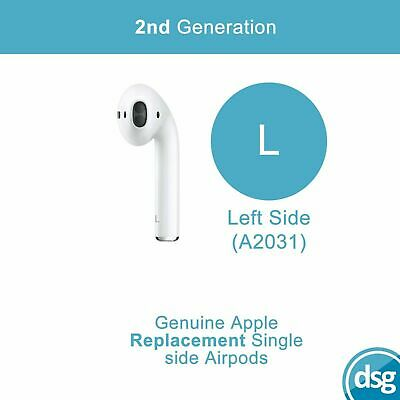 $ CDN77.71 • Buy Genuine Apple Airpods 2nd Generation Replacement Airpod - Left Ear Only A2031