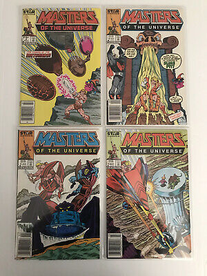 $15.50 • Buy Masters Of The Universe Comics Lot! Marvel~STAR #2,3,5,&6 HE-MAN! $.99 Auction!