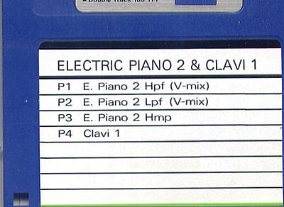 AU6.57 • Buy ELECTRIC PIANO & CLAVINET - ROLAND W-30 Formatted SOUND DISK