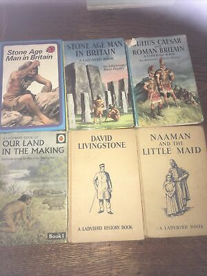 Collection Of Vintage History Ladybird Books • 0.99£