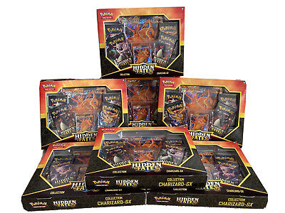 AU125 • Buy Pokemon Hidden Fates Collection Box - Charizard - New And Sealed