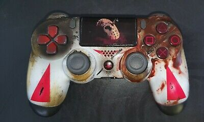 AU195.36 • Buy PS4 Dualshock 4 Controller - Jason Voorhees Edition - Friday The 13th - Custom