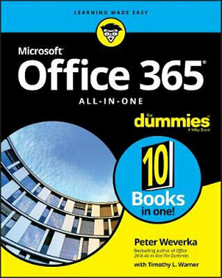 AU51.80 • Buy NEW Office 365 All-in-One For Dummies By Peter Weverka Paperback Free Shipping