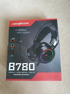 AU14.21 • Buy Pc Gaming Headset 7.1 With Mic
