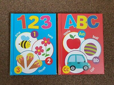 £3.99 • Buy ABC And 123 CHILDRENS HARDBACK LEARNING BOOKS BY BROWN WATSON