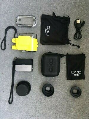 DXO ONE Bundle - Camera, Lens Attachments, Underwater Shell And Cases • 12.50£