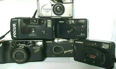 EARLY * POCKET CAMERAS - 35mm 1970 - 90  ~ Click SELECT To View INDIVIDUAL Items • 6£