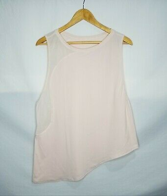 $ CDN28.88 • Buy Lululemon Athletica Strength In Stance Tank Top Size 12 XL Butter Pink Gym Yoga