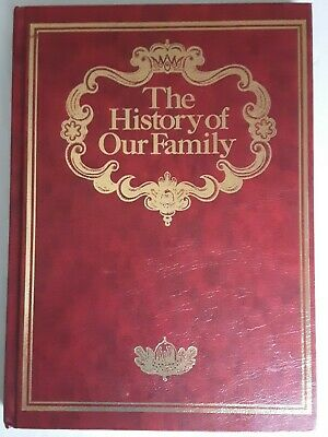 The History Of Our Family Book For Recording Genealogy  • 9.99£