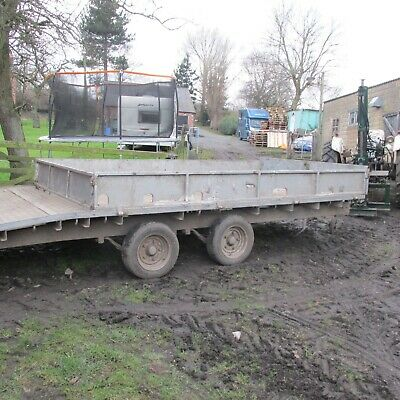 Ifor Williams 16ft  BeaverTail Trailer With 12v  Winch . Sides And Ramps • 1,900£