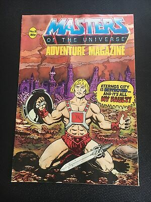 $15 • Buy Ultra Rare Masters Of The Universe Adventure Magazine #8 Printed In England 1988