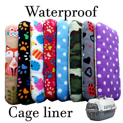 £8.99 • Buy Waterproof Cage Liner For Travel Kennel Cage / Pet Carrier Transporter Box, Bed