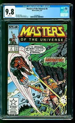 $86 • Buy Masters Of The Universe 8 CGC 9.8 NM/M Mosquitor Snake Face He-Man Skeletor