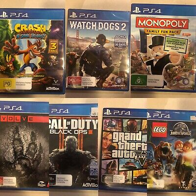 AU28.54 • Buy PS4 Sony PlayStation 4 Video Games Good Condition *Free Postage*