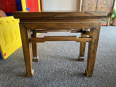 AU95 • Buy Asian Antique Timber Side Table