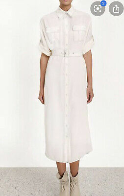AU240 • Buy Zimmermann Silk Utility Dress - Size 0