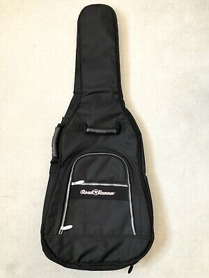 Road Runner Soft Case Heavy Duty Black Guitar Gig Bag Electric Or Acoustic • 25.01£