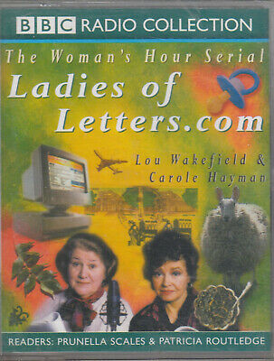 Ladies Of Letters.Com 2 Cassette Audio Comedy Womans Hour Radio Prunella Scales • 2.49£