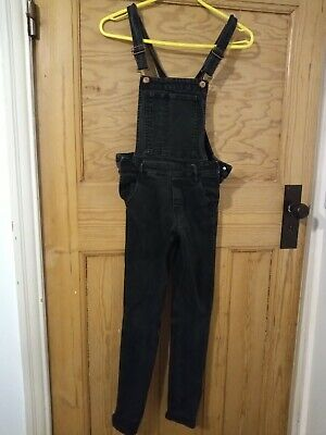 Girls Denim Dungarees Age 10-11 H And M • 3.99£