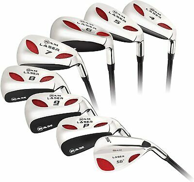 AU369 • Buy Ram Golf Laser Hybrid Irons Set 4-SW (8 Clubs) - Mens Left Hand
