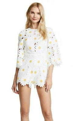 AU90 • Buy Alice McCall You Never Tell Playsuit White Daisy Size 4