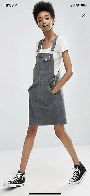 AU25 • Buy Asos Tall Corduroy Pinafore Size 18