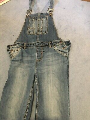 Fat Face Denim Dungarees Age 10-11 Great Condition • 4.50£