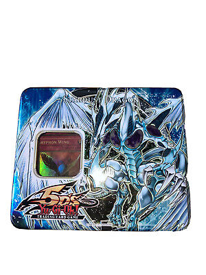 Yu-Gi-Oh! Stardust Dragon Collectible Tin 2008 1st Wave 5DS 1 Rare Card Included • 10.70£