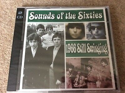 Very Rare Time Life Sounds Of The Sixties 1966 Still Swinging New/sealed 2 CD • 69.99£